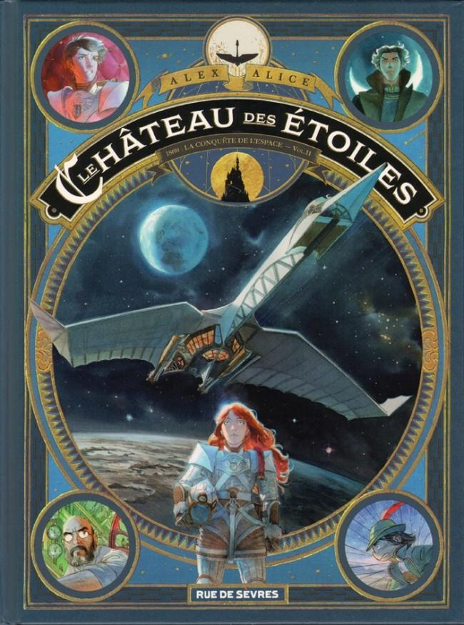 Couverture de Le château des étoiles -INT2- 1869 : La Conquête de l'espace - Vol.II