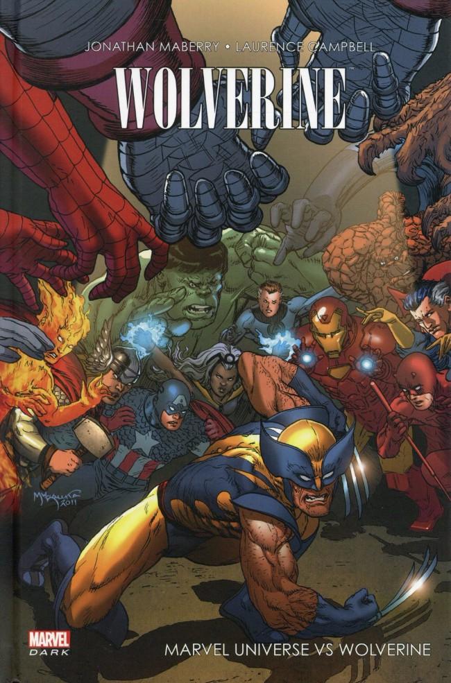 Couverture de Wolverine (Marvel Dark) - Marvel universe vs Wolverine