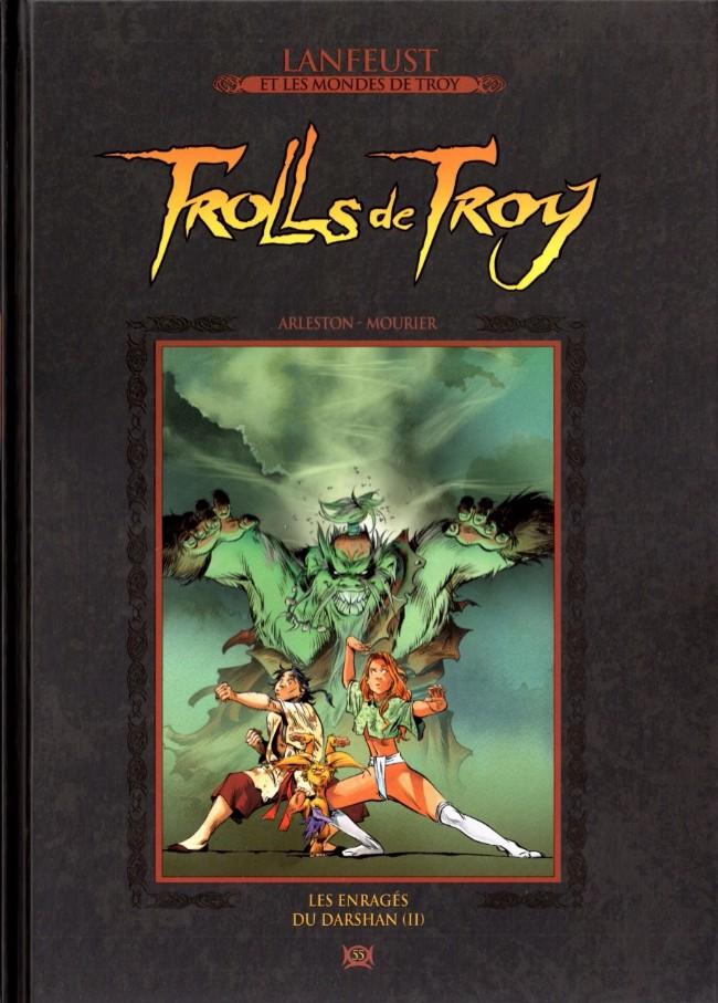 Couverture de Lanfeust et les mondes de Troy - La collection (Hachette) -55- Trolls de Troy - Les enragés du Darshan (II)