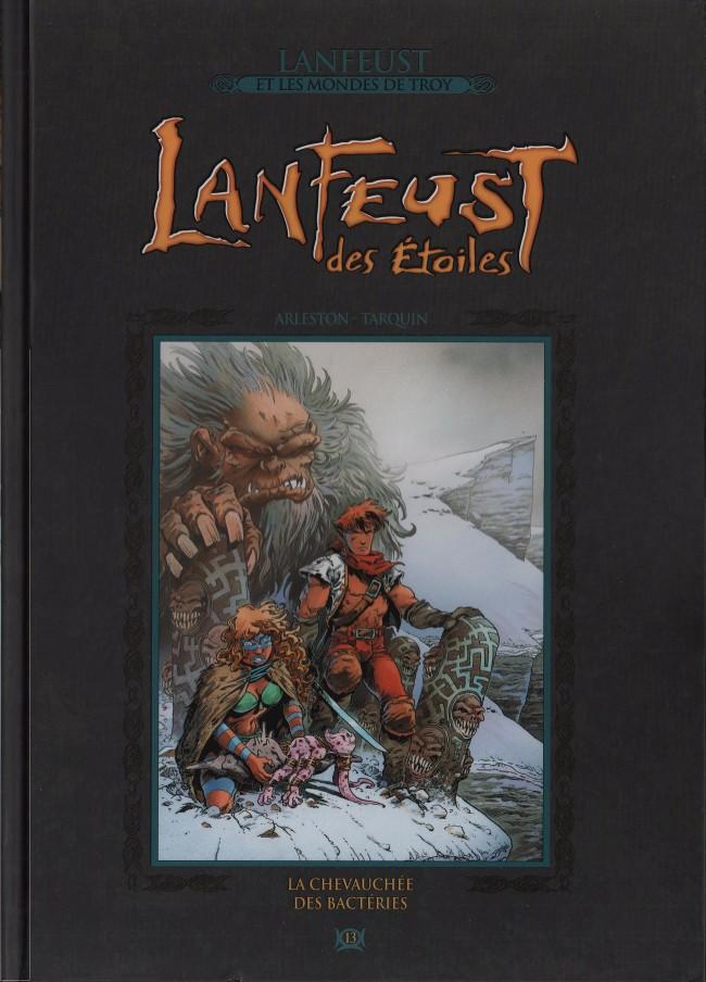 Couverture de Lanfeust et les mondes de Troy - La collection (Hachette) -13- Lanfeust des Étoiles - La Chevauchée des bactéries