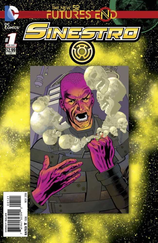 Couverture de Sinestro: Futures End (2014) -1- The Night, Both Fearful and Dark