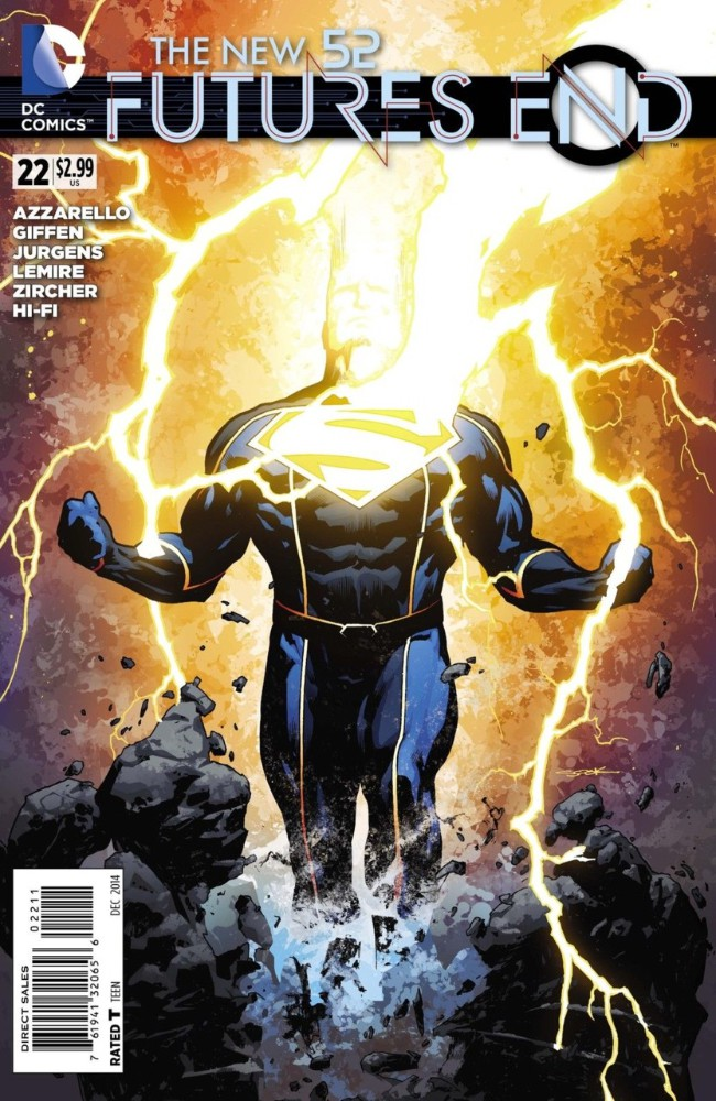Couverture de New 52 (The): Futures End (2014) -22- Issue 22