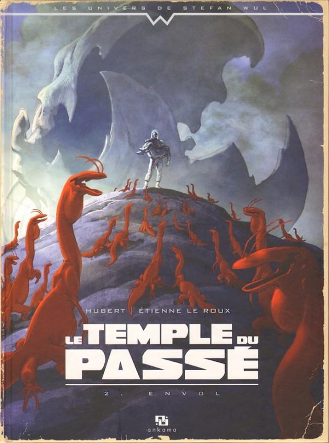 Couverture de Le temple du passé -2- Envol