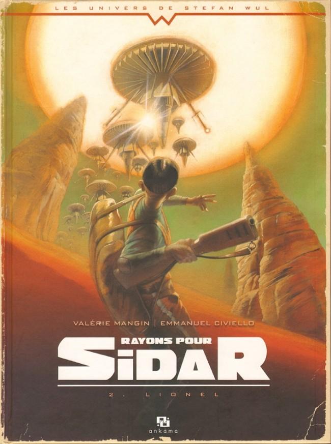 Couverture de Rayons pour Sidar -2- Lionel