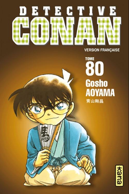 Couverture de Détective Conan -80- Tome 80