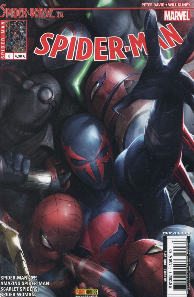 Spiderman V5 Tome 08 Panini Comics French