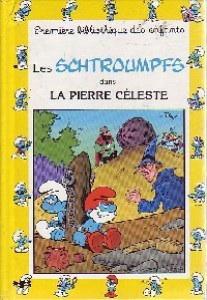 Couverture de Les schtroumpfs (Hemma-Livre de poche) -4- La pierre céleste