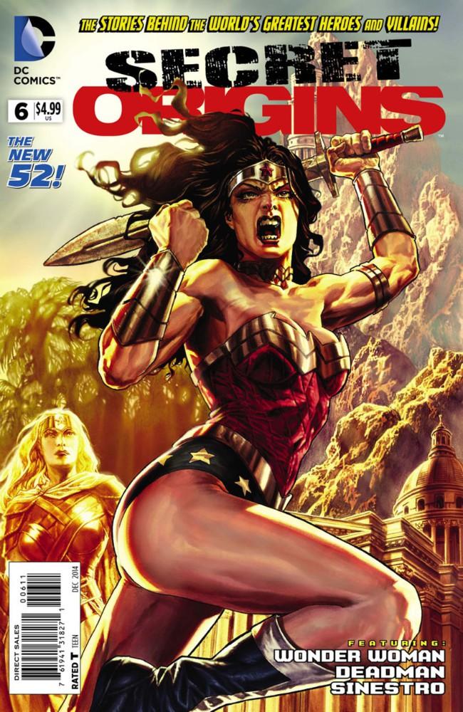 Couverture de Secret Origins (2014) -6- The Secret Origin of Wonder Woman