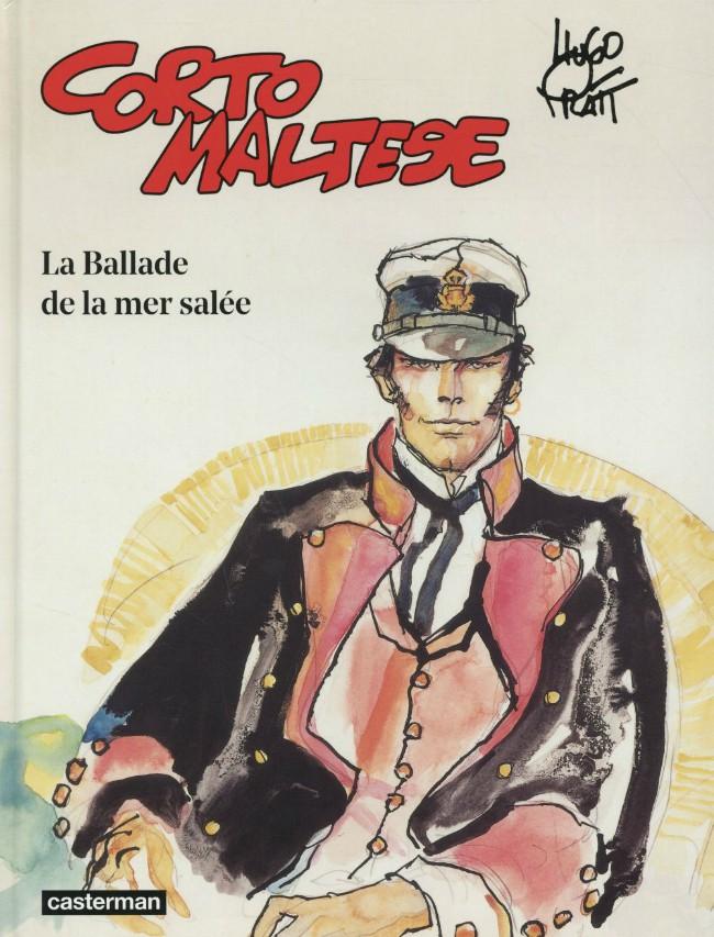 Couverture de Corto Maltese (2015 - Couleur Format Normal) -1- La Ballade de la mer salée
