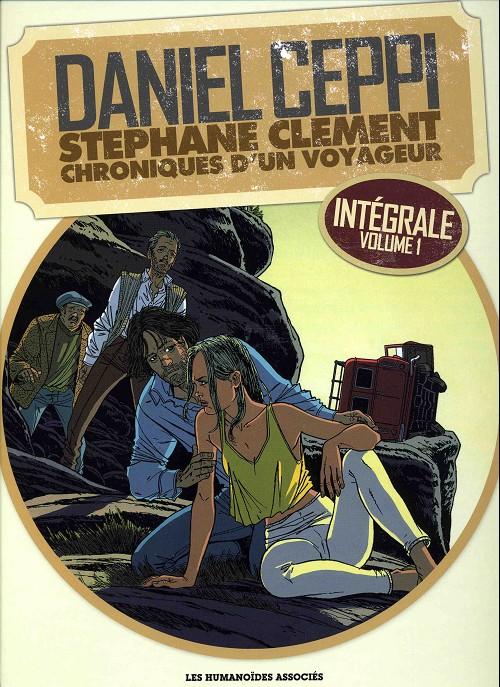 Couverture de Stéphane Clément -VOL1- Chroniques d'un voyageur - Intégrale Volume 1