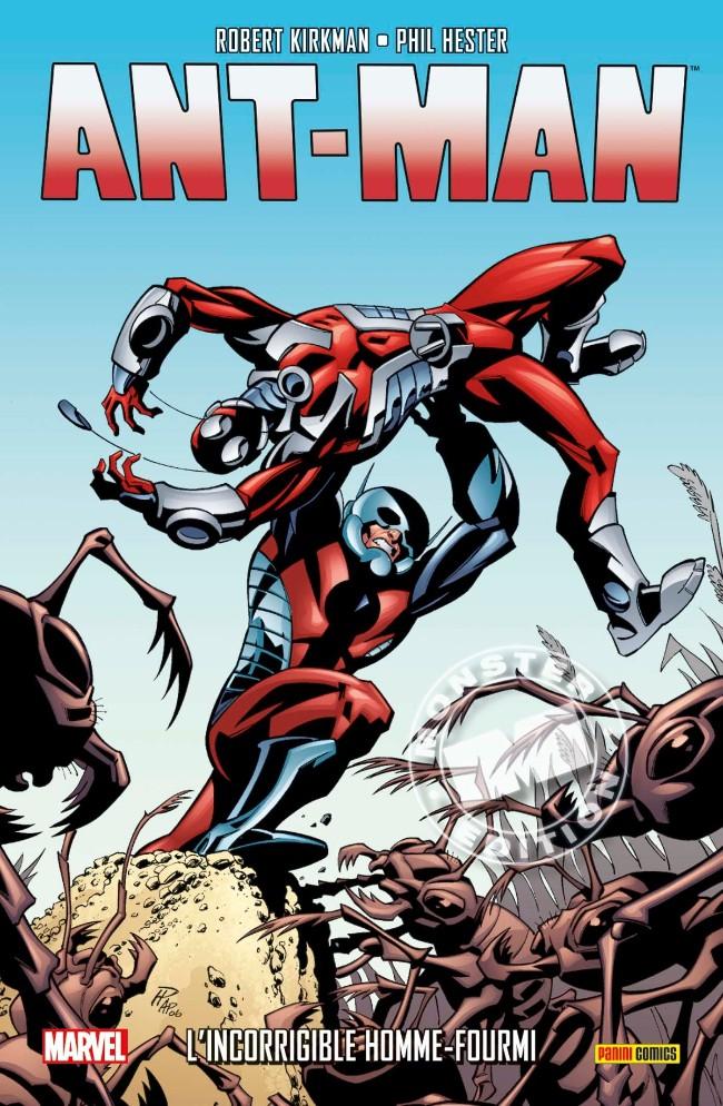 Couverture de Ant-Man (Marvel Monster Edition) - L'incorrigible Homme-Fourmi