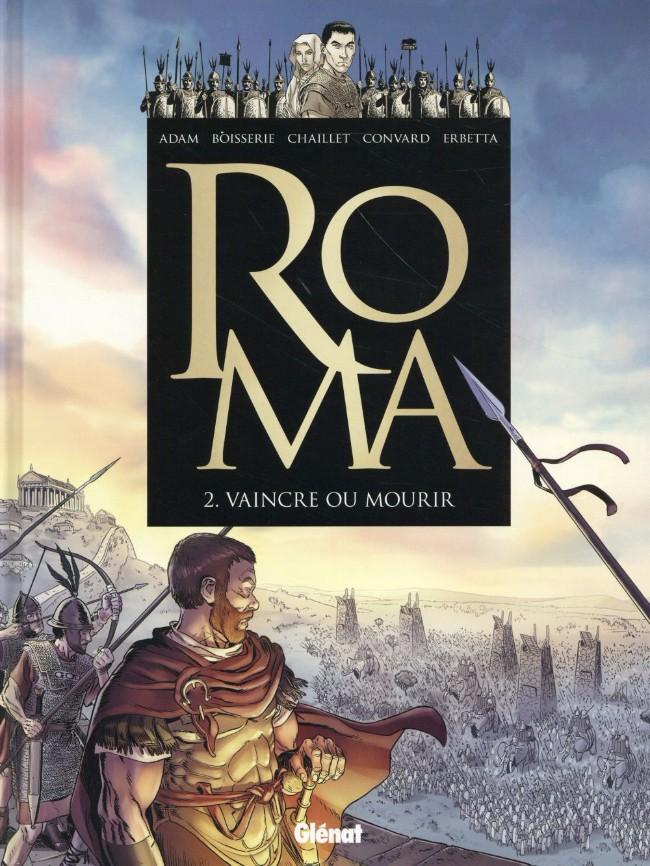 Couverture de Roma -2- Vaincre ou mourir