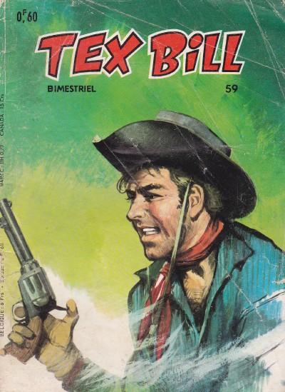 Couverture de Tex Bill -59- Un concurrent déloyal
