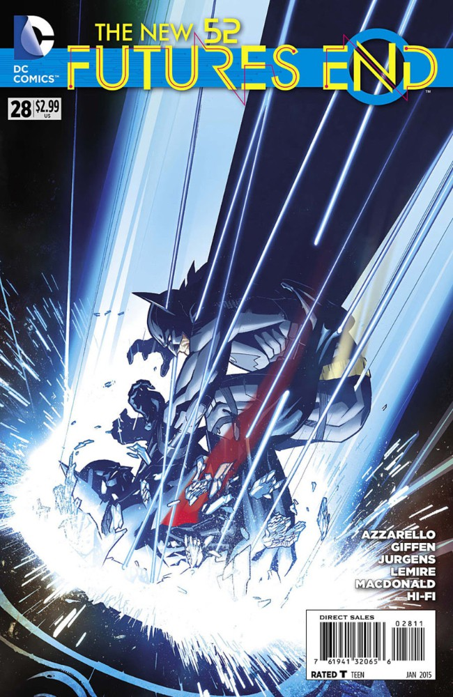 Couverture de New 52 (The): Futures End (2014) -28- Issue 28