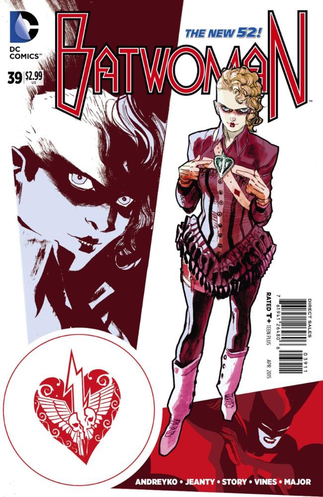 Couverture de Batwoman (2011) -39- Alice, Sweet Alice