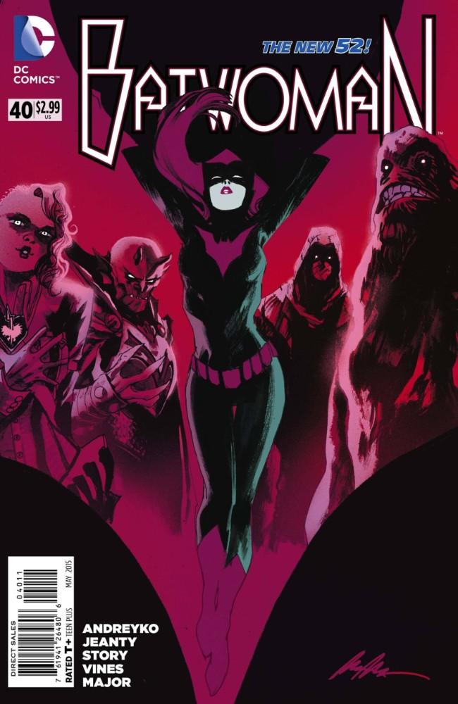 Couverture de Batwoman (2011) -40- Nocturne in Red