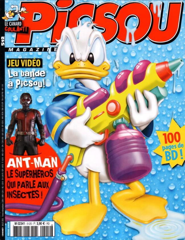 Couverture de Picsou Magazine -512- Picsou magazine n° 512