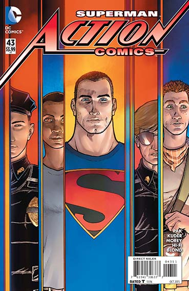 Couverture de Action Comics (2011) -43- Hard truth - Part 3