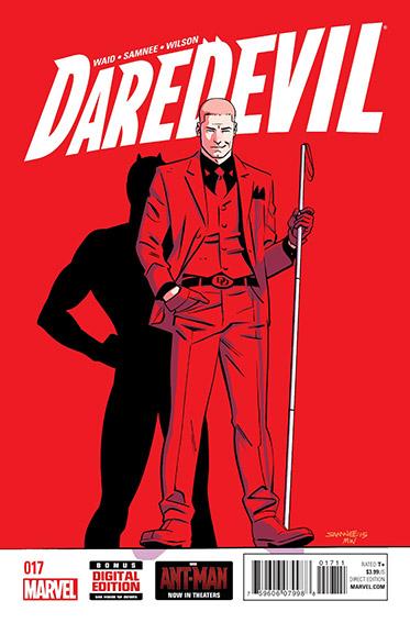 Couverture de Daredevil Vol. 4 (Marvel - 2014) -17- Untitled