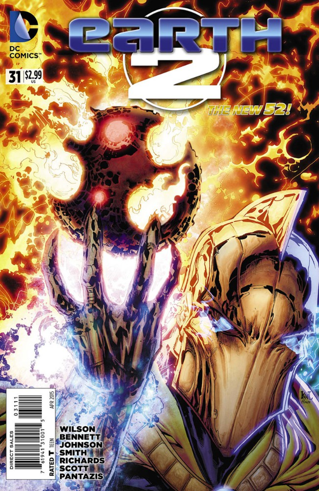 Couverture de Earth 2 (2012) -31- Fate & Fury