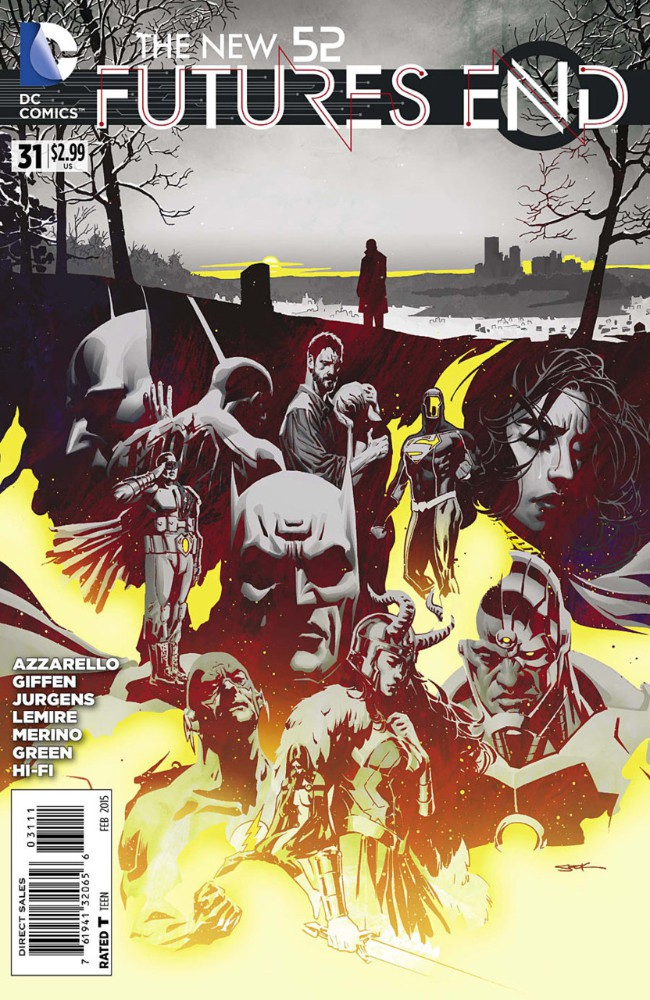 Couverture de New 52 (The): Futures End (2014) -31- Issue 31