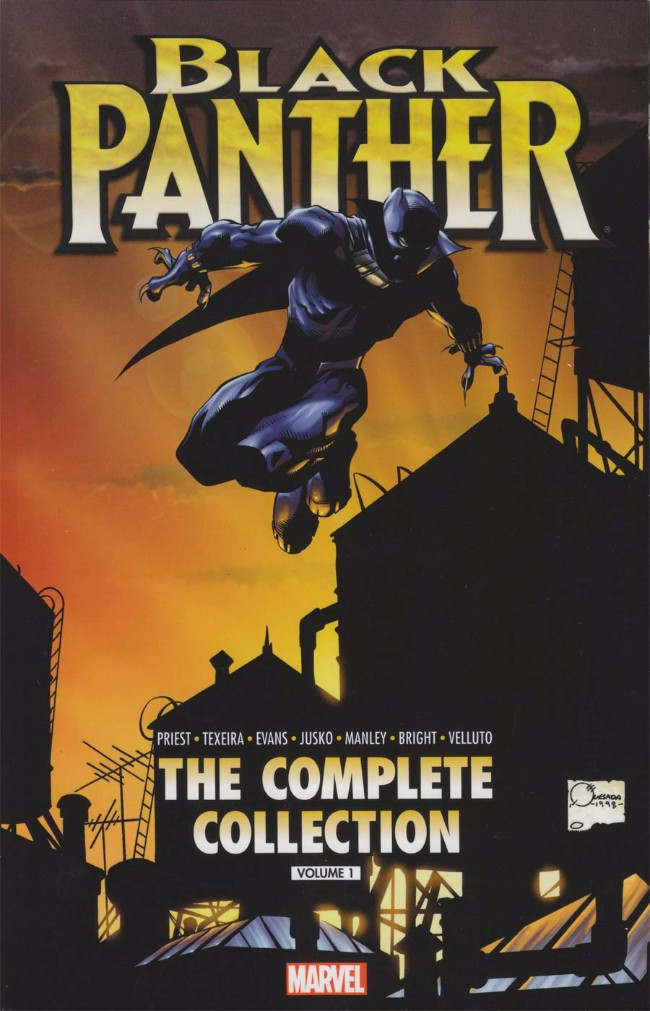Couverture de Black Panther Vol.3 (Marvel - 1998) -INTC01- by Christopher Priest: The Complete Collection Volume 1