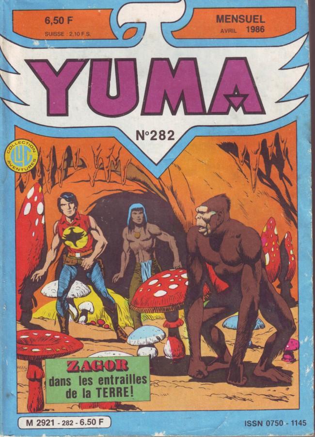 Couverture de Yuma (1re série) -282- Zagor dans les entrailles de la terre