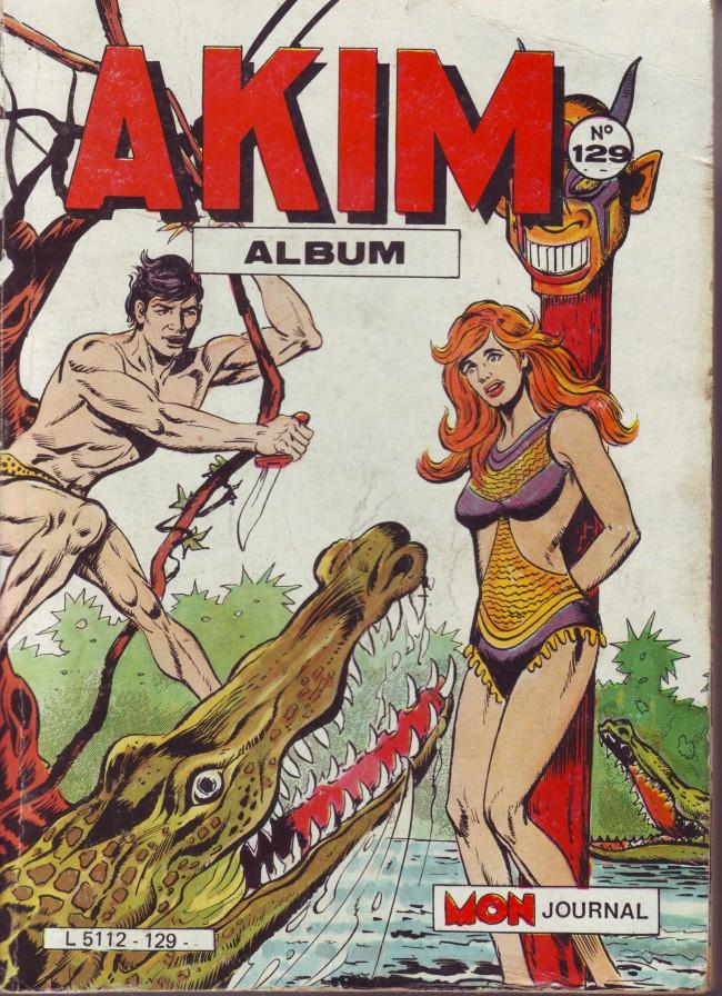 Couverture de Akim (1re série) -Rec129- Album N°129 (du n°637 au n°640)