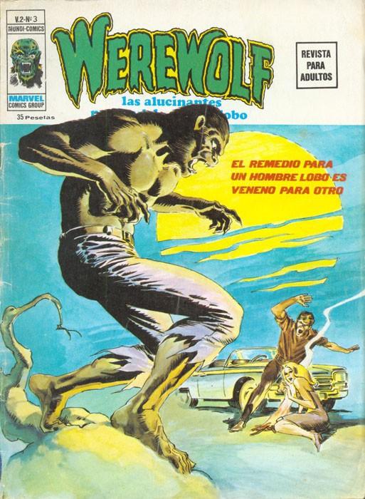 Couverture de Hombre Lobo (El) (Vol. 2) -3- El remedio para un hombre lobo es veneno para otro