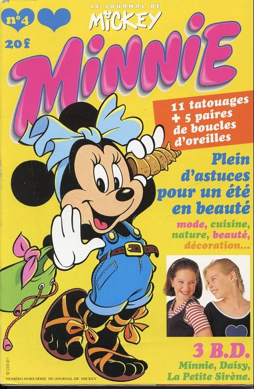 Couverture de Minnie mag -4- Numéro 4