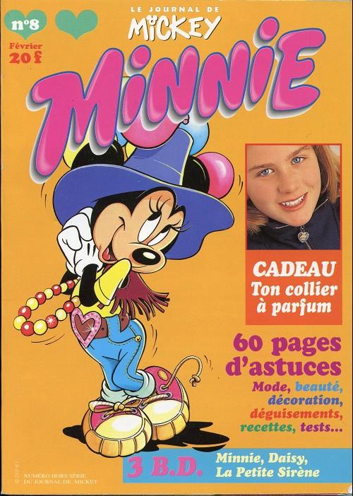 Couverture de Minnie mag -8- Numéro 8