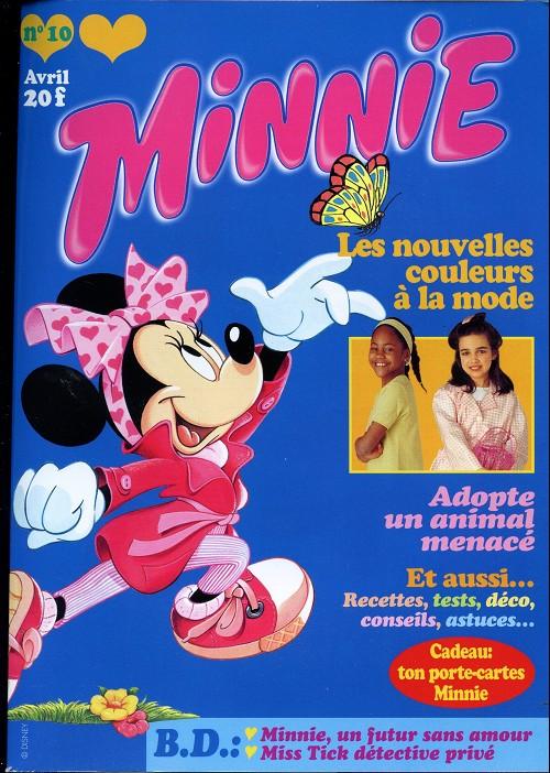 Couverture de Minnie mag -10- Numéro 10