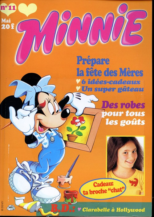 Couverture de Minnie mag -11- Numéro 11
