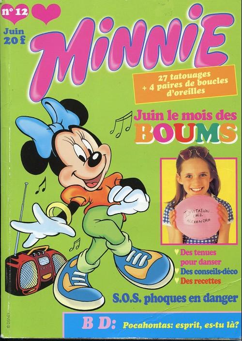 Couverture de Minnie mag -12- Numéro 12