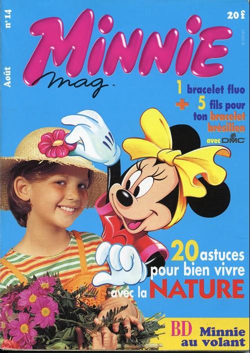 Couverture de Minnie mag -14- Numéro 14