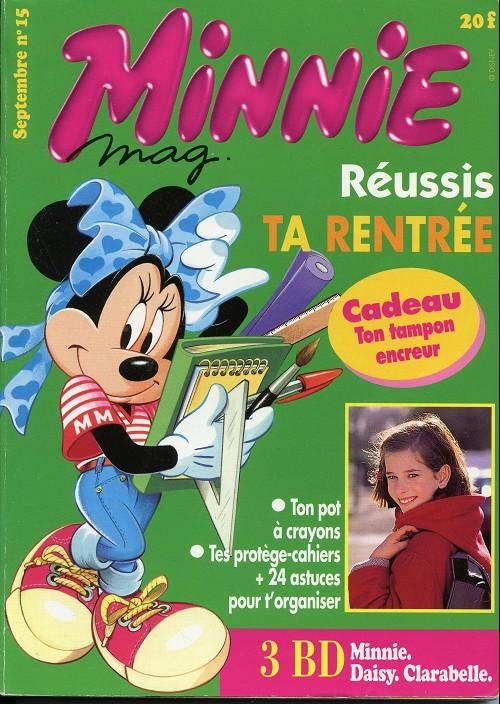 Couverture de Minnie mag -15- Numéro 15