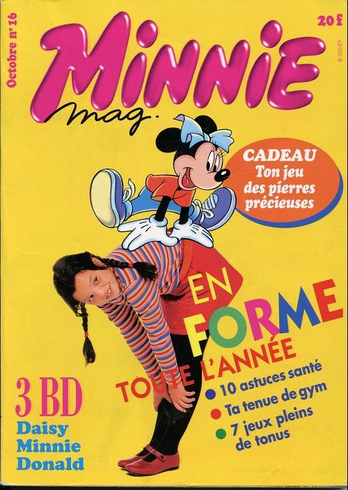 Couverture de Minnie mag -16- Numéro 16