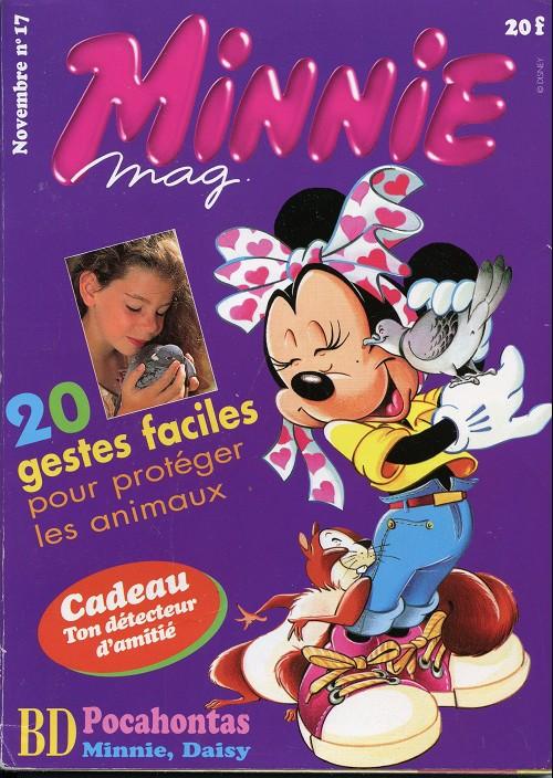 Couverture de Minnie mag -17- Numéro 17