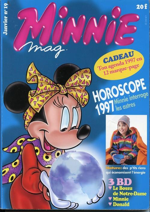 Couverture de Minnie mag -19- Numéro 19