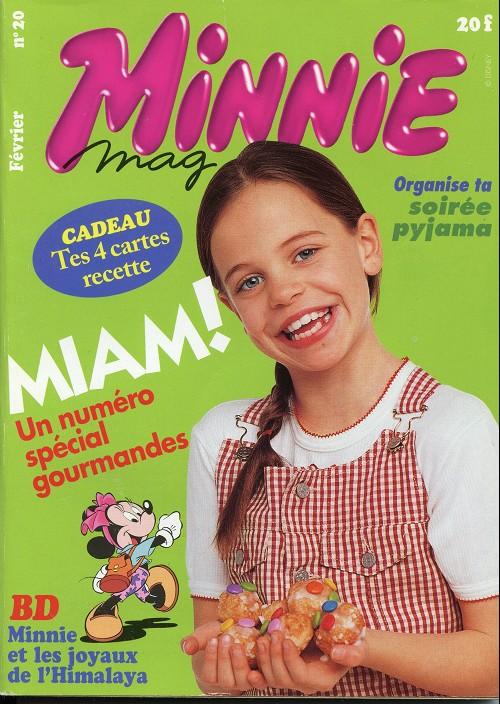 Couverture de Minnie mag -20- Numéro 20