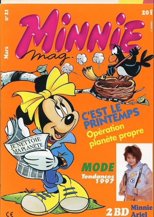 Couverture de Minnie mag -21- Numéro 21