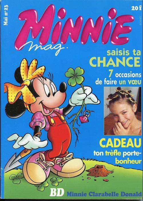Couverture de Minnie mag -23- Numéro 23