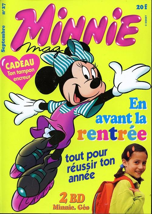 Couverture de Minnie mag -27- Numéro 27