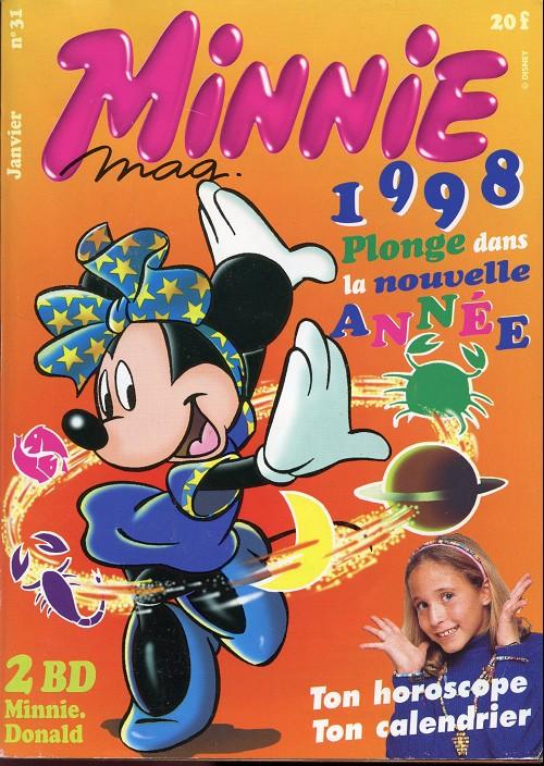 Couverture de Minnie mag -31- Numéro 31