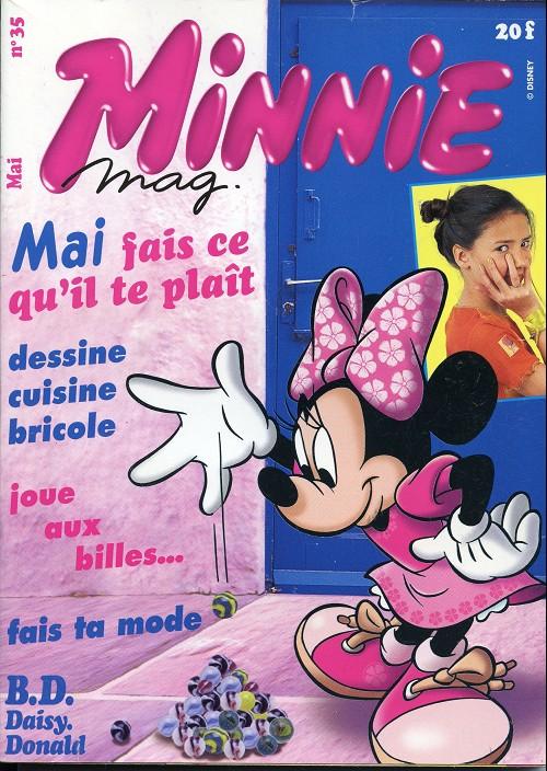 Couverture de Minnie mag -35- Numéro 35