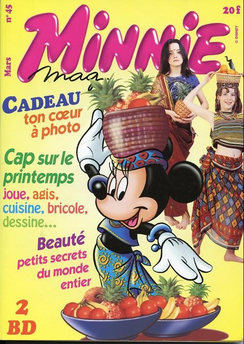 Couverture de Minnie mag -45- Numéro 45