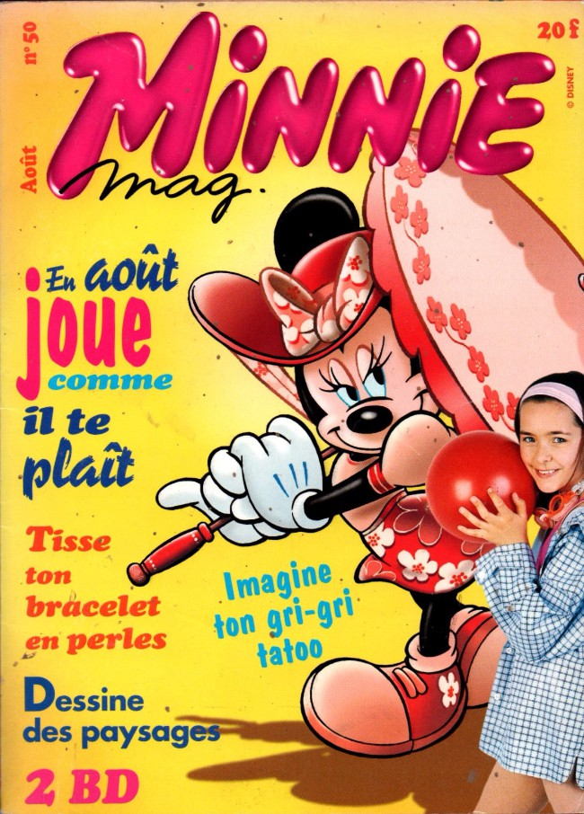 Couverture de Minnie mag -50- Numéro 50