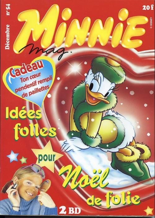 Couverture de Minnie mag -54- Numéro 54