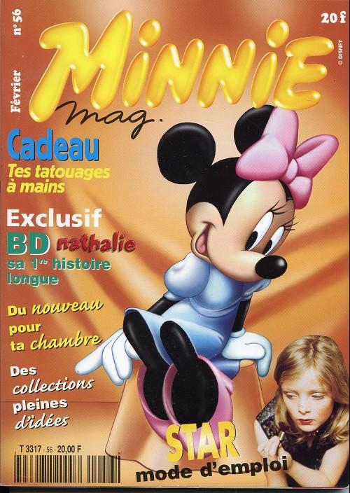 Couverture de Minnie mag -56- Numéro 56