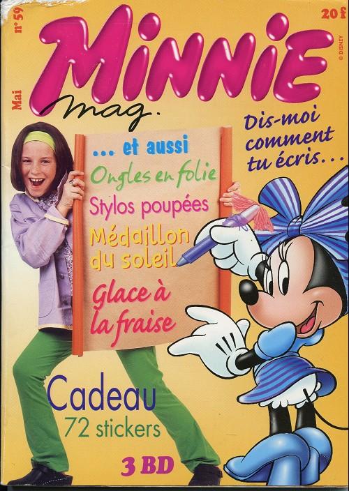 Couverture de Minnie mag -59- Num2ro 59